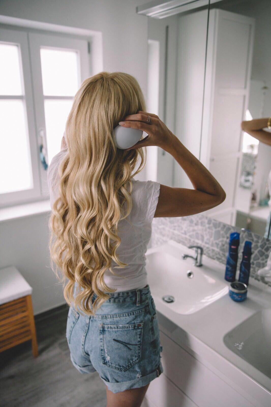 Lange Haare Spitzen Schneiden Anleitung Mittellange Haare