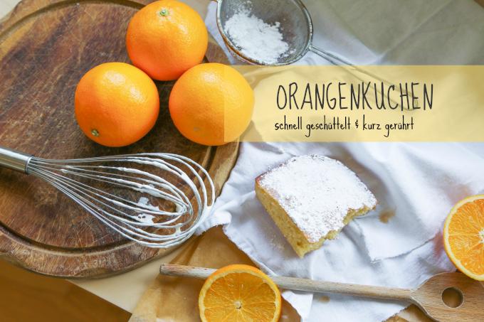 Flink gebacken: leckes Orangenkuchen Rezept