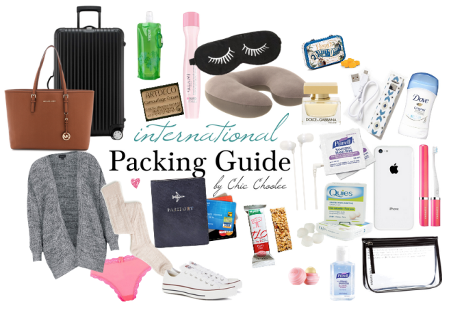 Koffer Packen Checkliste