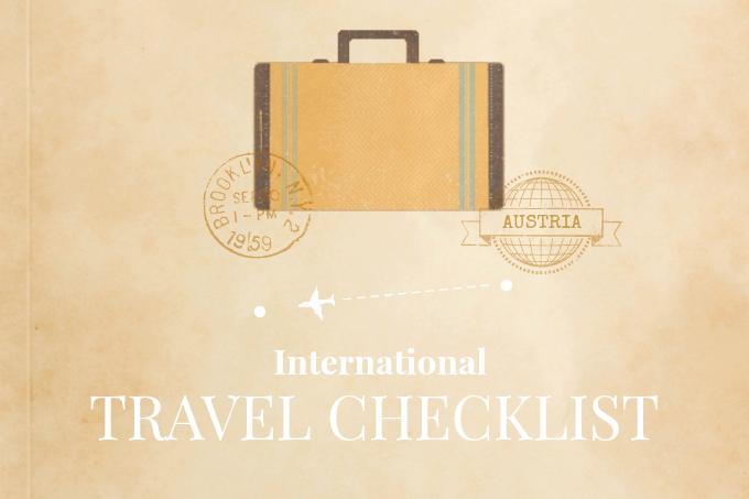 Checkliste zum Kofferpacken: der ulitmative Packing Guide