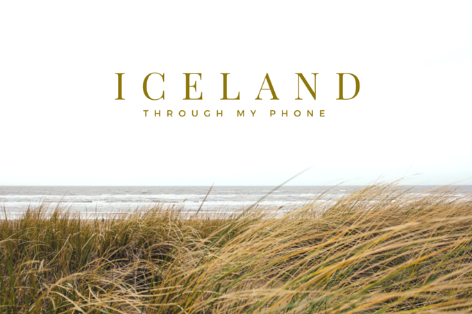 ICELAND through my Phone