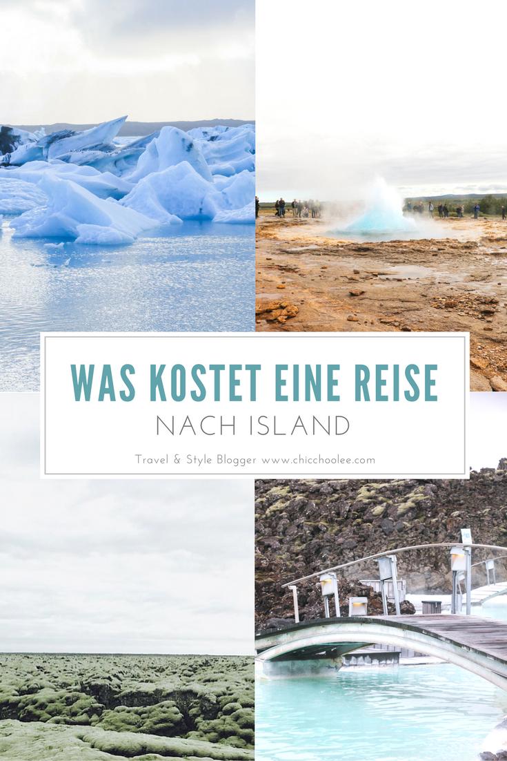 Reisekosten Island