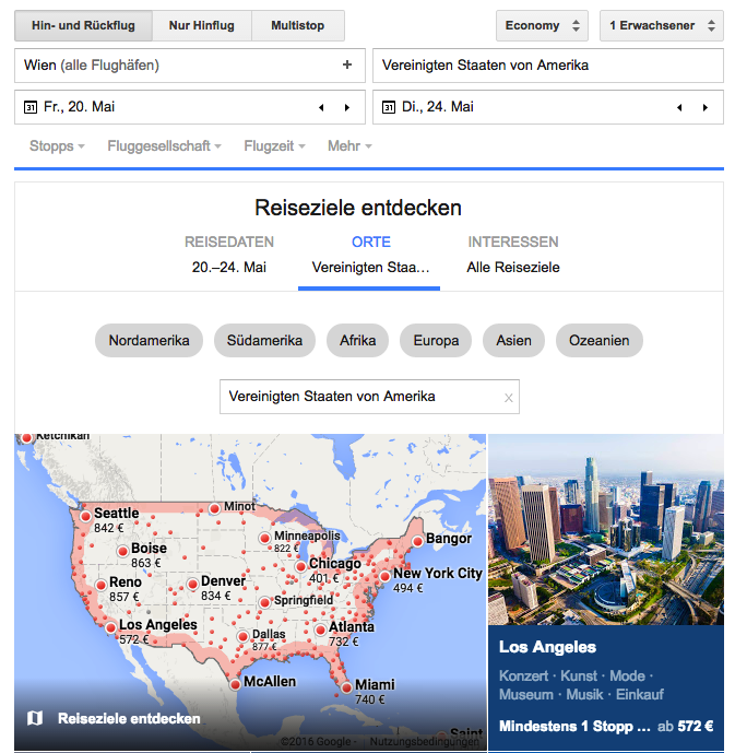 Google-Flights-Destination-Search