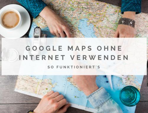 So verwendest du Google Maps ohne Internet oder im Flugmodus
