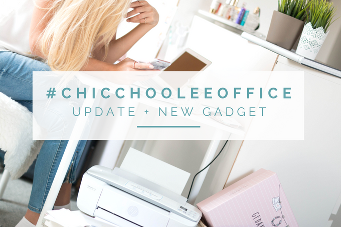 Home Office Update: #chicchooleeoffice