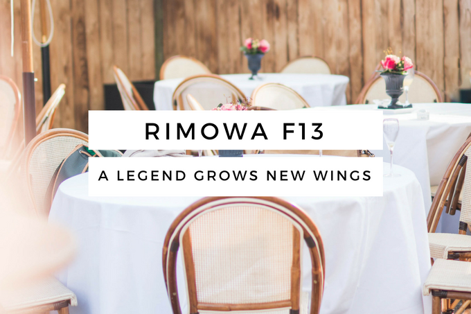RIMOWA Junkers F13 – A Legend grows new Wings