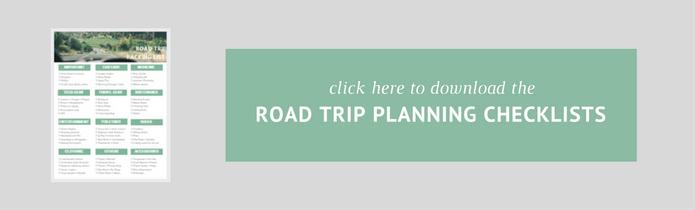 Road Trip Tipps