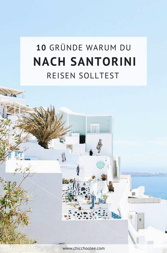 Santorini reisen