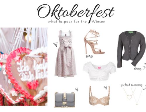 What to Pack: Oktoberfest Munich