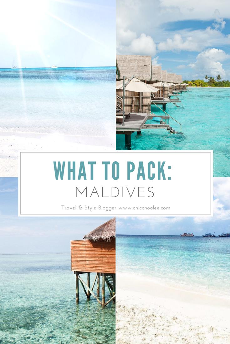 Packen für Malediven