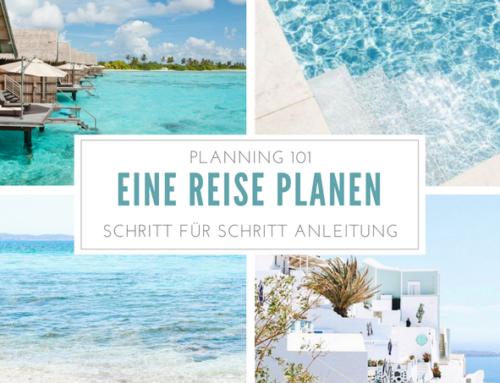 Reise planen: Schritt für Schritt Anleitung