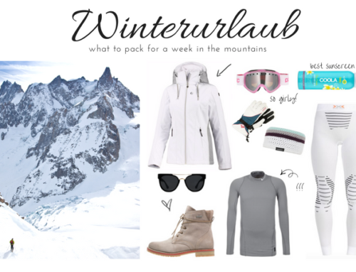 What to Pack: Ski Urlaub in den Bergen