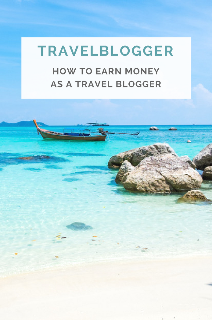 how to get paid for a travel blog