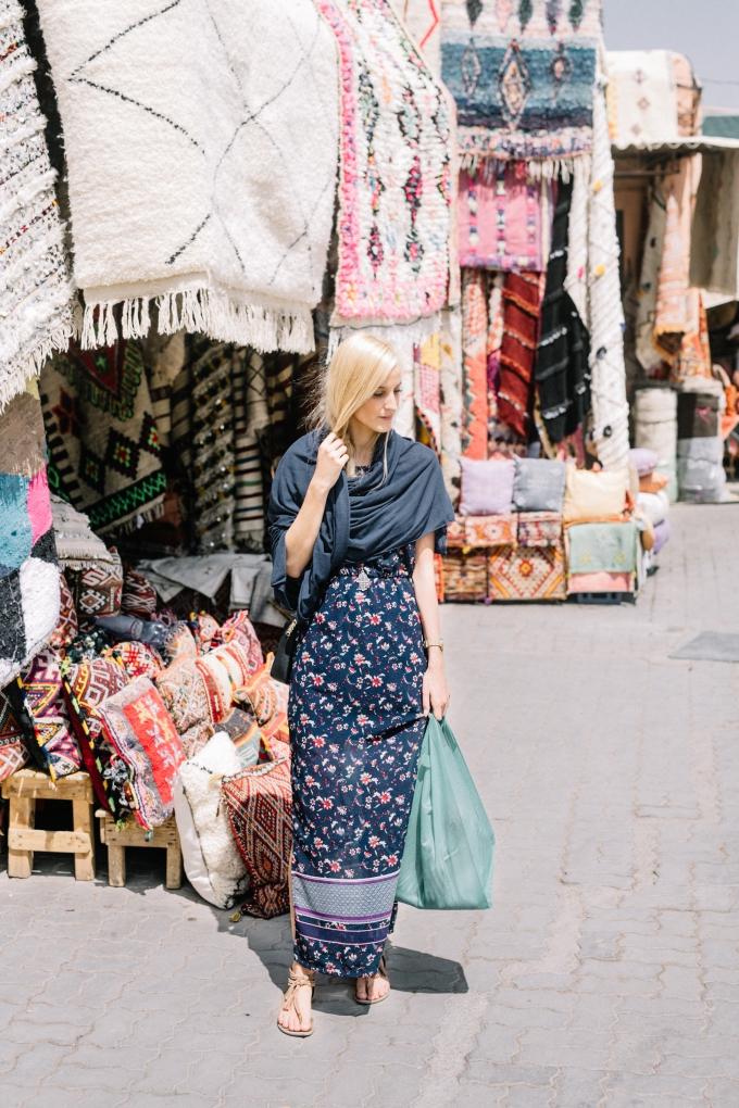 Frauen kleidung marrakesch