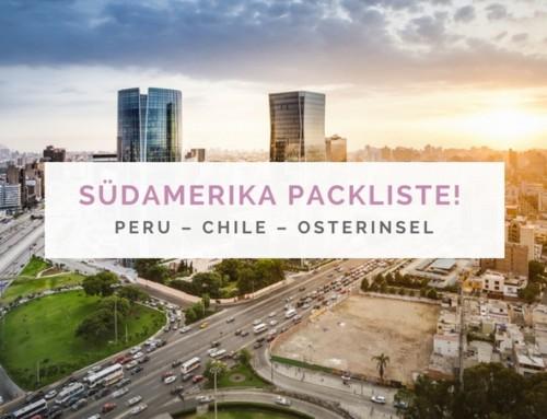 Auf nach Peru – Reiseroute, Packliste und Vorfreude ohne Ende!