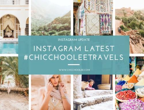 Instagram latest 04/2017 | #chicchooleetravels