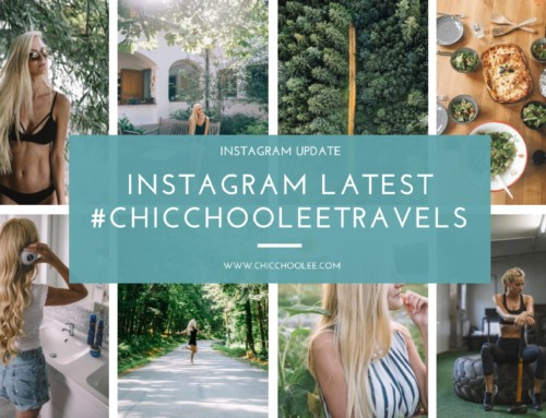 Instagram latest 08/2017 | #chicchooleetravels