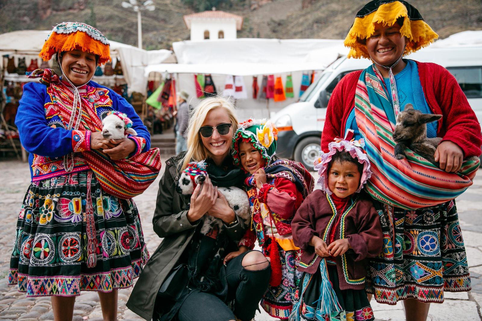 heiliges Tal Peru
