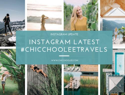 Instagram latest 09/2017 | #chicchooleetravels