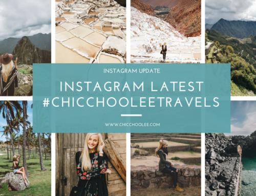 Instagram latest 10/2017 | #chicchooleetravels