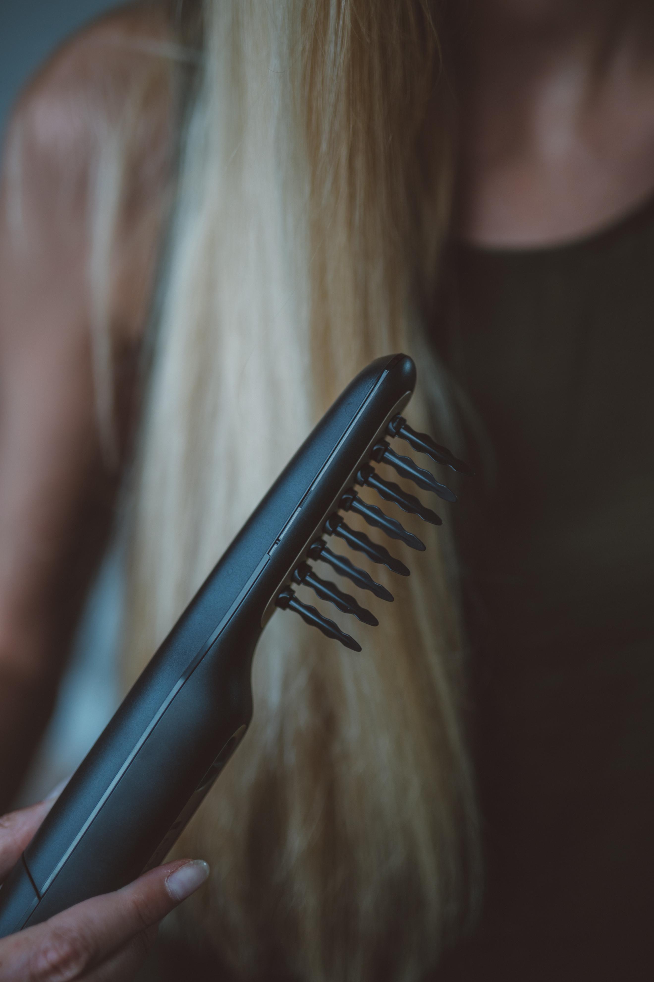 verknotetes Haar