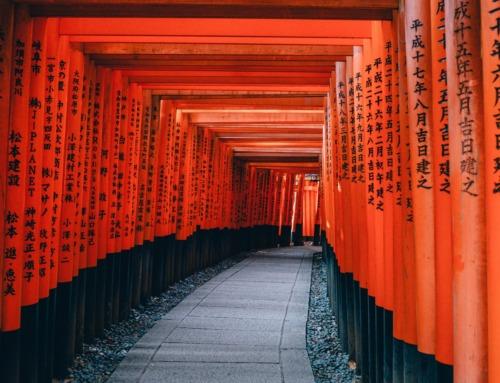 Fushimi Inari-Taisha  Der rote Schrein in Kyoto
