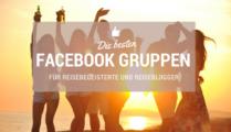 Die besten Facebook Gruppen zum Thema Reisen