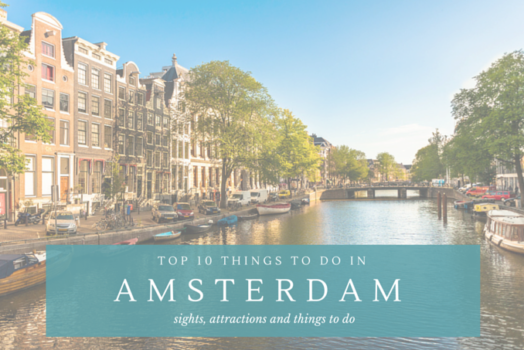 TOP 10 Things to Do in Amsterdam | Netherlands