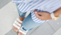 The perfect Travel Outfit | Oversized Blouse