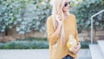 White & Mustard – Most favourite Color Combination