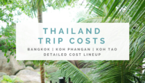 What Does a Vacation in Thailand Cost? – Detailed Cost Lineup